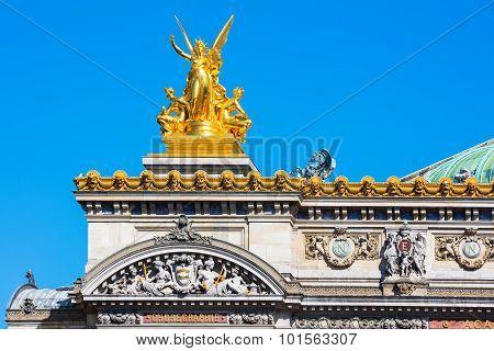 Grand Opera (detail), Paris, France