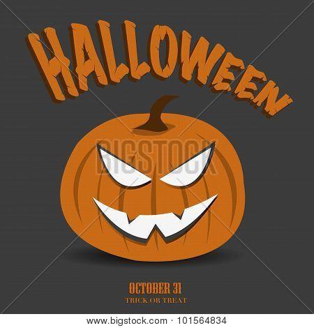 Halloween Jack o Lantern Design