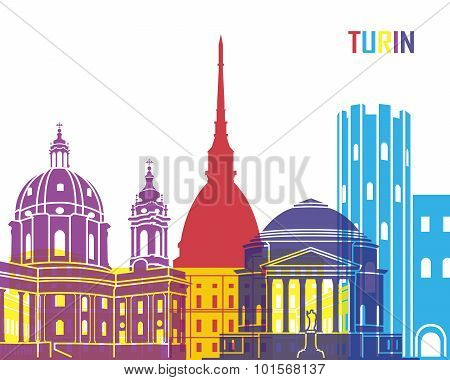 Turin Skyline Pop