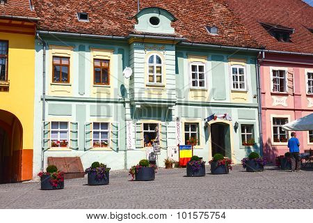 historic town Sighisoara