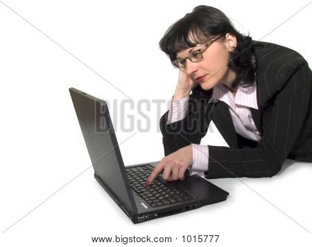 Woman And Compuer_3