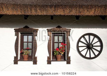 Windows Of Hungarian Csarda