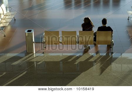Couple Waiting