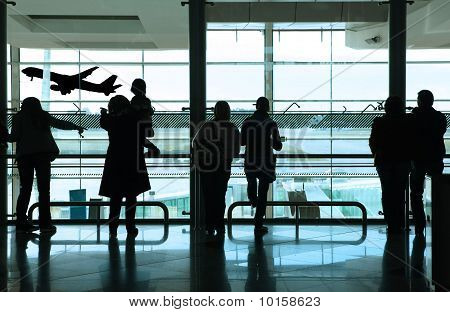 People In The Airport