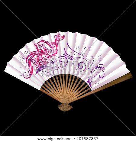 Fan With Patterns