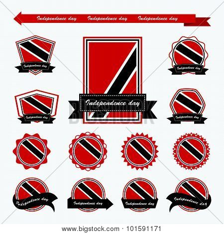 Trinidad & Tobago Independence Day Flags