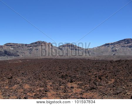 Mountain, nature of Tenerife Canary Islands
