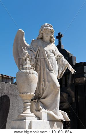 Angel, Cemetery Recoleta  Buenos Aires Argentine