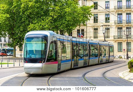 Modern Tram Of Grenoble - France, Rhone-alpes