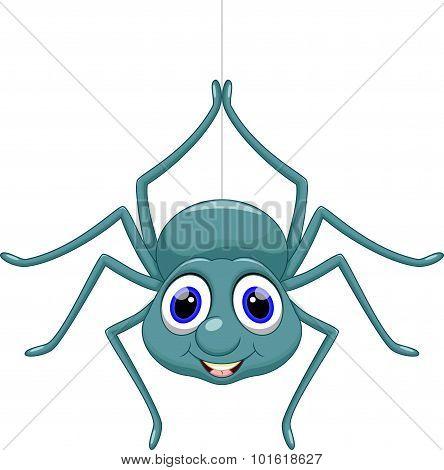 Cute spider cartoon
