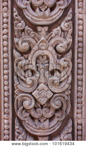 Carved Cement