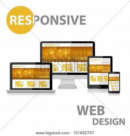 Responsive Web Design on Various Device