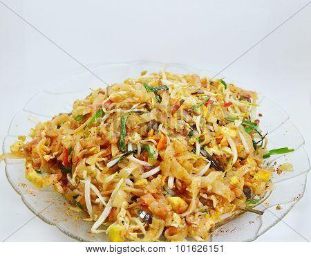 Pad Thai stir-fried noodle