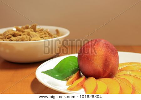 Breakfast Peaches