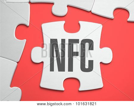 NFC - Puzzle on the Place of Missing Pieces.