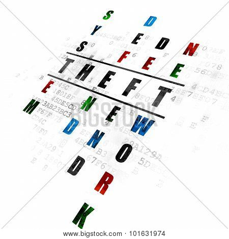 Protection concept: word Theft in solving Crossword Puzzle