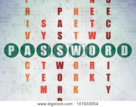 Protection concept: word Password in solving Crossword Puzzle