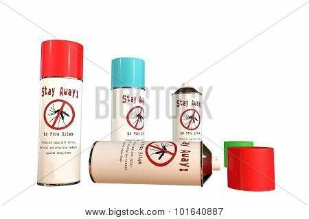 Mosquito Spray Cans