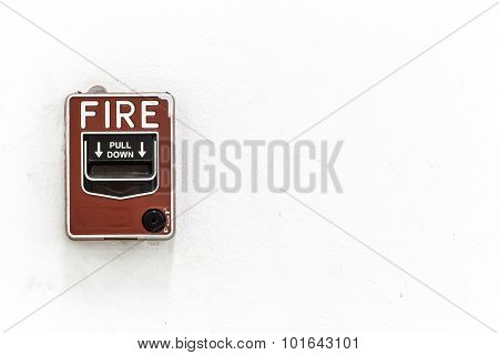 The Fire Alarm Button