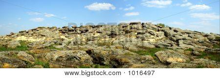 Stone Grave, Panorama