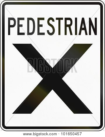 Crosswalk In Canada