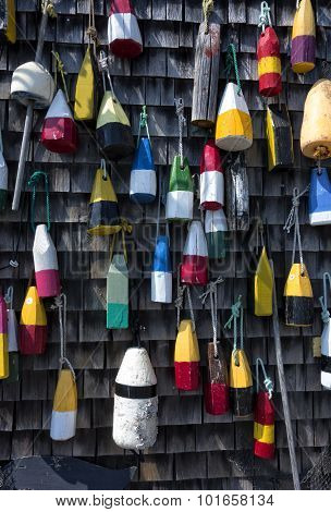 Wooden Buoys