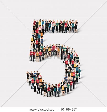 people form  number five