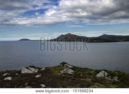 Lough Swilly With Mountains In The Distance