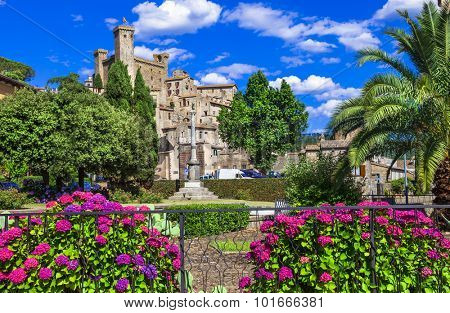 beautiful medieval villages of Italy - Bolsena