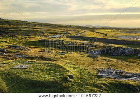 Rolling Irish Landscape