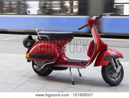 City life transportation