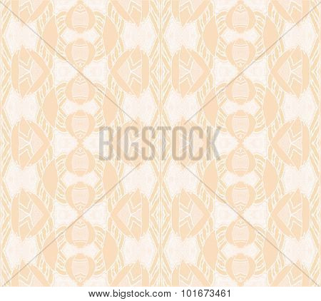 Seamless ornaments beige