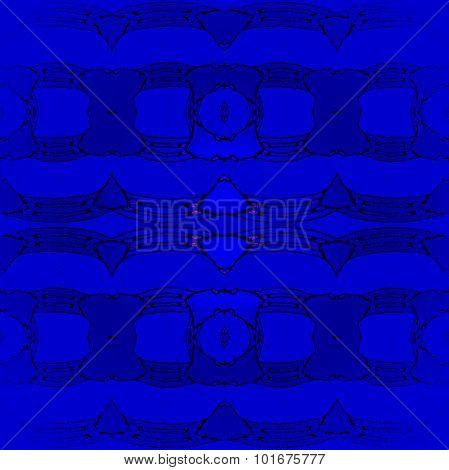 Seamless pattern dark blue blurred