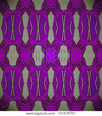 Seamless ellipses pattern purple gray
