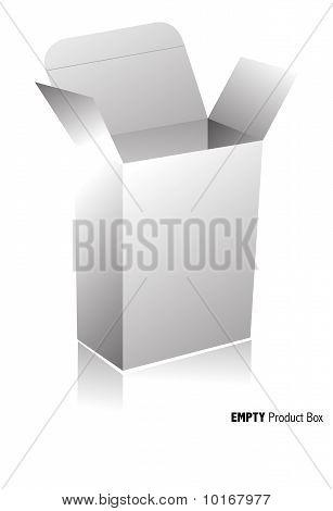 Plain blank box