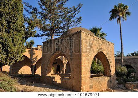 Courtyard of an ancient monastery Ayia Napa