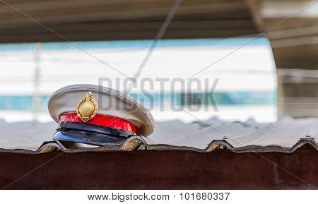 Police Flat Cap.