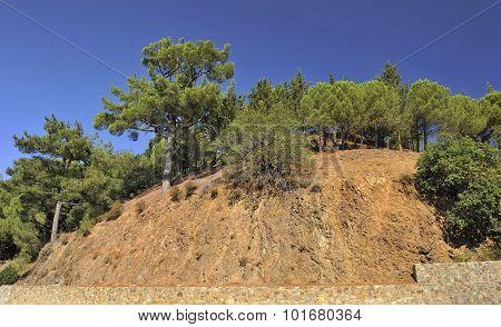 Mountain slopes, Troodos