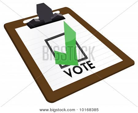 Checkbox Vote
