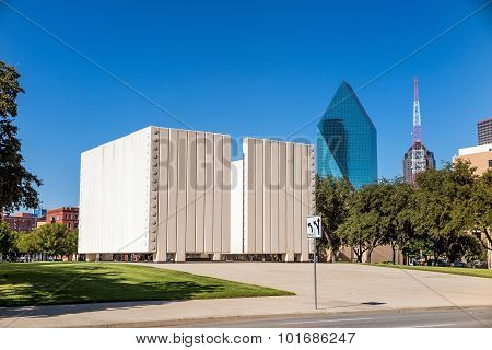 John F. Kennedy Memorial Plaza In Dallas