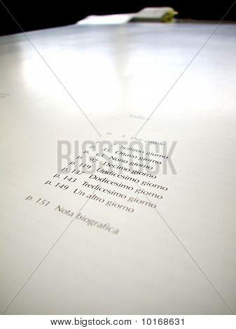 Offset Printed Sheet