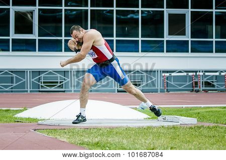 men shot put