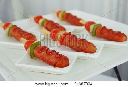 Bbq Sausages
