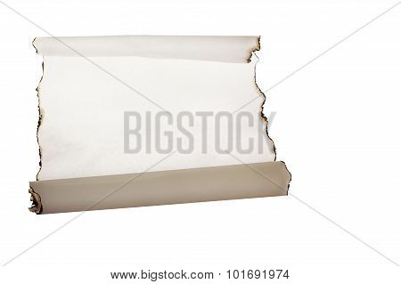 Burnt White Paper