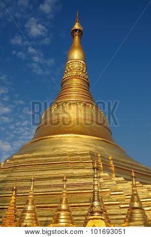 Myanmar (burma), Shwedagon Paya In Yangon