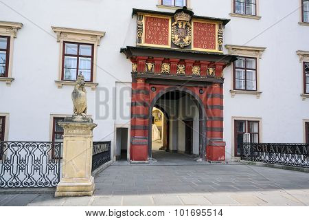 Schweizer Tor, Hofburg, Wien