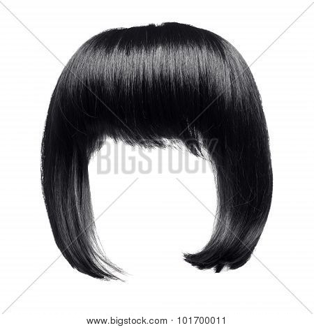 Black Hair Isolated