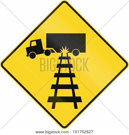 Truck Damage Warning In Canada