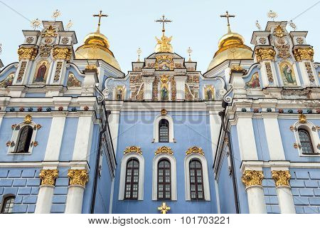 St. Michael's Golden-domed Monastery - Famous Church In Kyiv, Ukraine