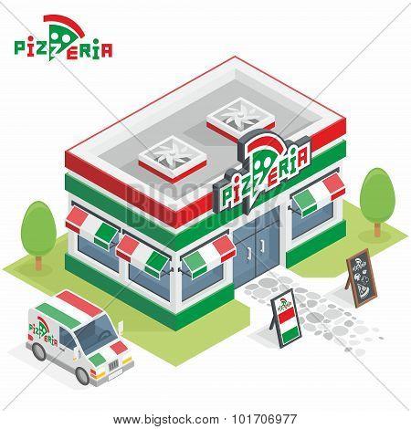 Pizzeria building
